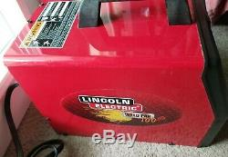 Lincoln Electric Weld Pak 100HD Mig Welder, 115v, 10965, NEW GUN AND CLAMP