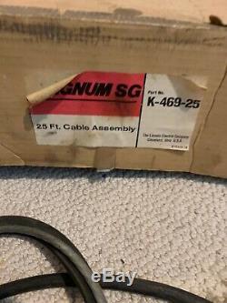 Lincoln Electric Welder Aluminum Spool Gun Magnum SG K-469-25 Plus Accessories