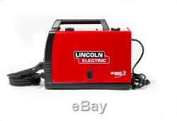 Lincoln Electric Wire Feed Welder 140 Amp Weld Pak 140 HD MIG Magnum 100L Gun