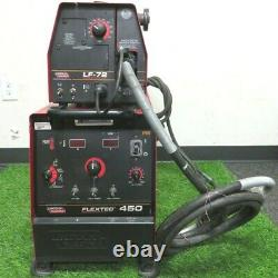 Lincoln Flextec 450 Multi-Process Welder with Lincoln LF-72 and Welding Gun