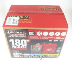Lincoln K2515-1 180A Weld-Pak 180 HD MIG Wire Feed Welder with Magnum 100L Gun
