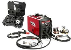 Lincoln K3461-1S LE31MP Multiprocess Wirefeeder Welder with Spool Gun