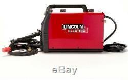 Lincoln Multi-Process Stick/MIG/TIG Welder with Magnum Pro 100L Gun 140 Amp 120V