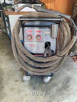 Lincoln Power Mig 300 Welder and Push/Pull Python Gun Aluminum Mig Welding
