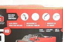 Lincoln Welder Welding Machine Unit with Gun Electric Flux-Cored Wire Feed K2513-1