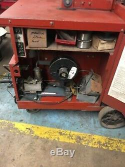 Lincoln mig welder with magnum spool gun