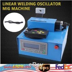 Linear Type Swing Welding Oscillator PLC Control For TIG MIG Welding Gun USA