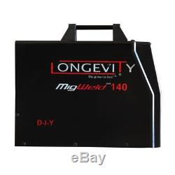 Longevity Migweld 140 MIG Welder with Spool Gun Capability MIG, Wire-Feed