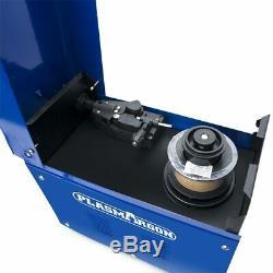 MIG 130 Welder Gun Mask Brush 220V GasLess Flux Core Wire Automatic Feed Welding