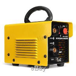 MIG-200 DIY Manual Welder To Gas Welding Machine Arc Shielded Spool Gun Inverter