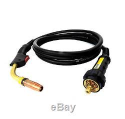 MIG 350 Amp Welder Gun Torch 15FT 5M USA Made Euro Connection Binzel Style 24 KD