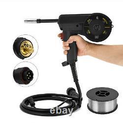 MIG Aluminum Welding Spool Gun Torch Wire Feed Feeder 10FT for MIG Welder HBM228