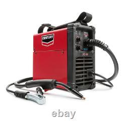 MIG Welding Machine 120V 90 Amp FC90 Flux Core Wire Feed Welder Gun