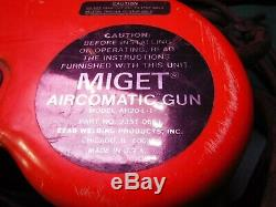 MIGET AIRCOMATIC GUN Spool Gun & AH20-L-1 P/N 23510681