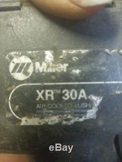 MILLER XR-A EXTENDED REACH AIR COOLED WIRE FEEDER FOR WELDER WithMILLER XR-30A GUN