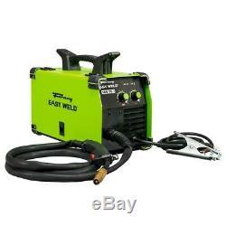 Mig Flux Core Wire Gun Welder 19lb Welding Garage Metal Fabrication Home Farm