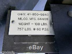 Milco Weld Gun Scissor Type Spot Welder Pneumatic Cylinder Welder 64409