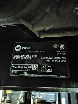 Miller 12rc Wire Welder Feeder, Gun, 75' Gas Hose & Power Extension, TIG Pedal