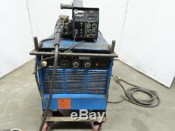 Miller 450A Pulsed Welder WithS62 Wire Feeder. 035 Tweco Mig Gun Works Good
