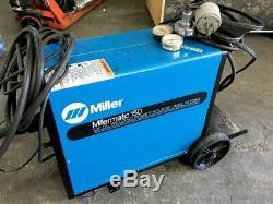 Miller Millermatic 150 CV DC Arc Welding Power Source Welder /wire Feeder +gun