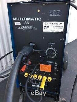 Miller Millermatic 35 Mig Welder With Tweco Gun 208/230v 1ph
