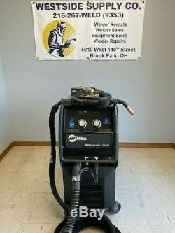 Miller Millermatic 350P Pulsed MIG Aluminum Welding Welder with Push Pull Gun