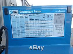 Miller Millermatic Pulser 250 Amp Mig & Aluminum Welder With Profax Gun & Cart #2