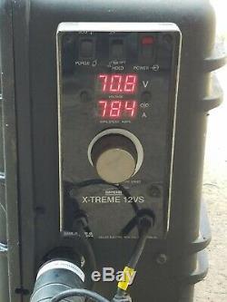 Miller X-Treme 12VS Suitcase Voltage Sensing Wire Feed Welder with/MIG Gun