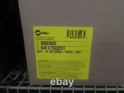 Miller XR-Aluma Pro A Mig Welding Gun New in Box, 15' 300 amp welder, sku300000