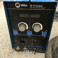 Miller XR-D Control Ext Reach Welder Wire Feeder XR Pistol Pro Push/Pull Gun