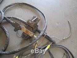Millermatic ModelL A1D-4 Wire Feed with Spool Guns