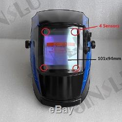 NEW True Color 4'x3.7' View 2in1 Grind Welding Helmet TIG Welder MIG Gun Parts