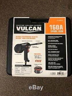 NEW Vulcan 160A Spool Gun Welding Welder Plumbing Auto Shop Garage