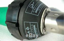 New 1500W 220V Hot Air Torch Plastic Welding Gun Welder Pistol + 3 Speed Nozzles