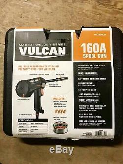 New Vulcan 160A Spool Gun