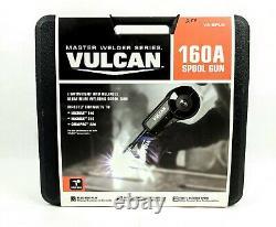 New Vulcan Va-splg 160a Lightweight Spool Gun Mig Weld Master Welder Series
