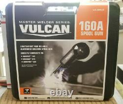New Vulcan Va-splg 160a Spool Gun Mig Weld Master Welder Series