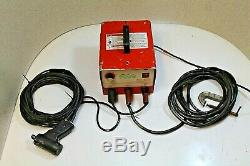 PRO WELD CD-212 Stud Welder with Cables and Gun 14 ga. 1/4 in. (100% TESTED)