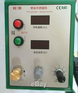 PVC Automatic Welding Machine Top2000B Flex Banner Seam Welder With Heater Gun
