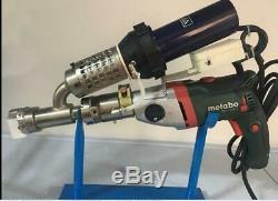 Plastic extrusion Welding machine Hot Air Plastic Welder Gun extruder B