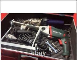 Plastic extrusion Welding machine Hot Air Plastic Welder Gun extruder U