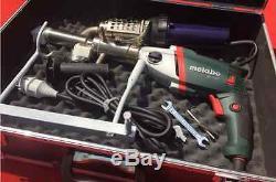 Plastic extrusion Welding machine Hot Air Plastic Welder Gun extruder et
