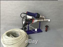 Plastic extrusion Welding machine Hot Air Plastic Welder Gun extruder s