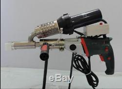 Plastic extrusion Welding machine Hot Air Plastic Welder Gun extruder sj
