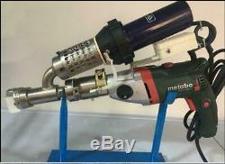 Plastic extrusion Welding machine Hot Air Plastic Welder Gun extruder y