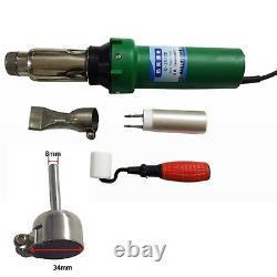 Portable Electric Soldering Hot Air Torch Plastic Welding Gun Welder Tool Kit