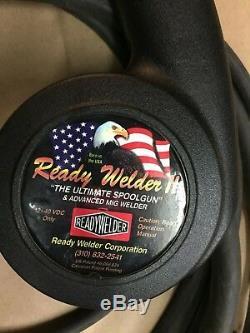 Ready Welder The Ultimate Spool gun & Advanced Mig Welder with Flow Gauge