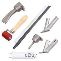 Ridgeyard 1500W Hot Air Torch Plastic Welding Gun Welder Pistol Tool Kit