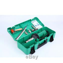 Ridgeyard 1600W Hot Air Torch Plastic Welding Gun Kit Welder Pistol Tool + Case