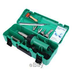 Ridgeyard 1600W Hot Air Torch Plastic Welding Gun Kit Welder Pistol Tool Set